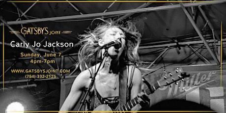 Carly Jo Jackson Live at Gatsbys Joint! tickets