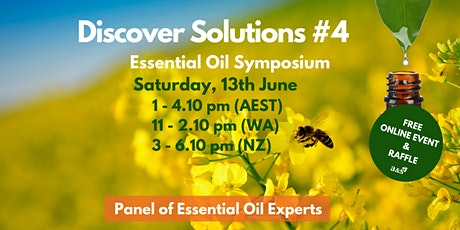Discover Solutions Essential Oil Symposium #4 tickets