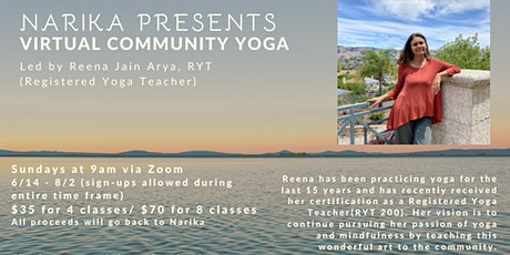 Virtual Community Yoga tickets