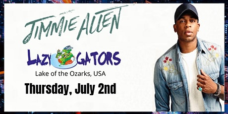 Jimmie Allen at Lazy Gators tickets