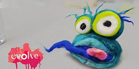 Evolve - 3D Monster Needle Felt Workshop tickets
