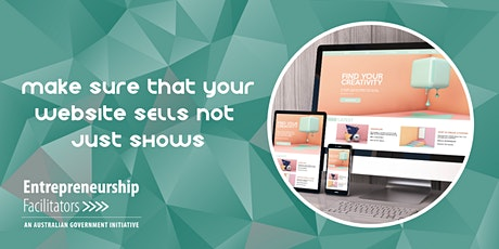 Make sure that your Website SELLS not just SHOWS - In Person / Zoom Options tickets