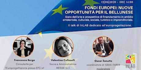 Fondi europei: nuove opportunità per il bellunese biglietti