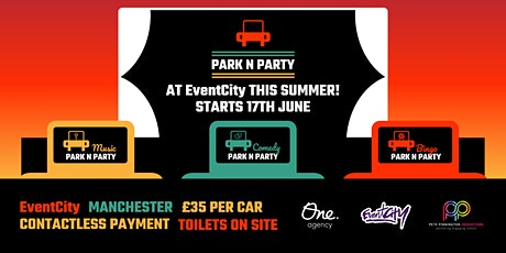 Park N Party - Comedy tickets