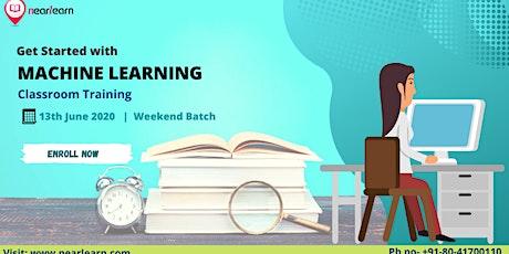 Machine Learning Classroom Training 13 june tickets