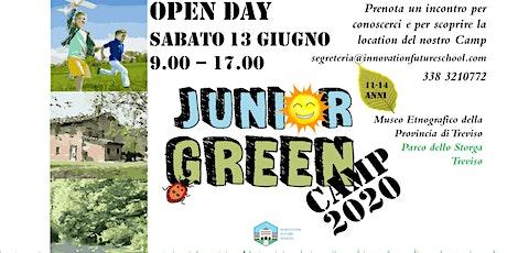 OPEN DAY - presentazione  Junior Green CAMP 2020 biglietti