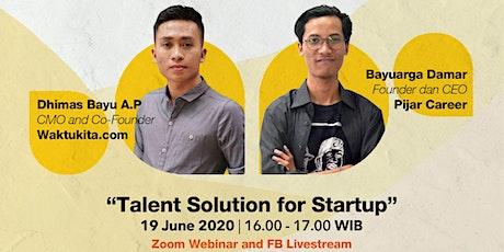 Talent Solution for Startups boletos