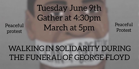 Protest in solidarity during the funeral of George Floyd tickets