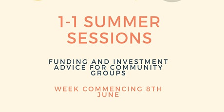 Summer Funding Sessions tickets