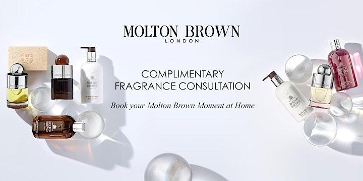 Molton Brown Cardiff,Fragrance consultation. image