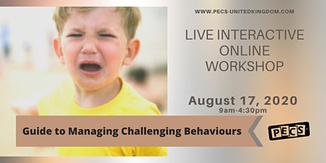 Guide to Managing Challenging Behaviour  - Online Training - August 17 tickets
