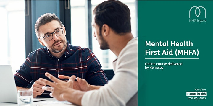 Mental Health First Aid Adult Online Course image