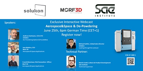 Exclusive Interactive Webcast with Co-Host Morf 3D tickets
