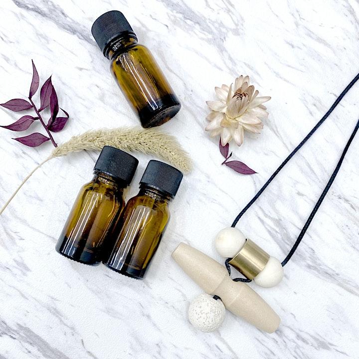 Aromatherapy Necklace Workshop 精油擴香頸鏈工作坊 image