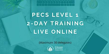 PECS Level 1 Live online Workshop - September 07 & 08 tickets