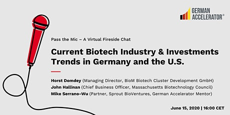 Current Biotech Industry & Investments Trends in Germany and the U.S. tickets