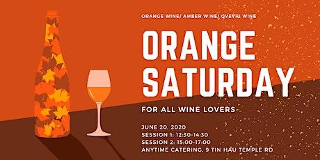 Orange Saturday (12:30 - 14:30 - Section I) tickets