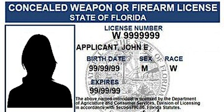 Concealed Carry Weapons License Qualification Class - Minimum Standards tickets