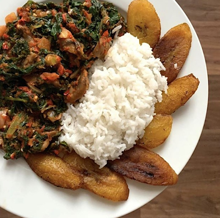 SOLD OUT - Vegetarian Nigerian cookery class with Elizabeth image