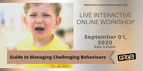 Guide to Managing Challenging Behaviour  - Online Workshop - Sept 01 tickets