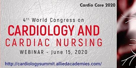 4th World Congress on Cardiology and Cardiac Nursing tickets