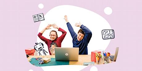 Digital-Workshops für die Bibliothek: Ein interaktives Poster gestalten Tickets