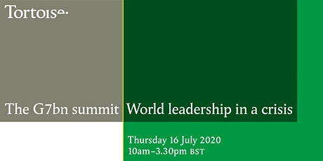 The G7bn summit: World leadership in a crisis tickets