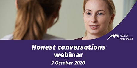 Honest conversations (2 October 2020) tickets