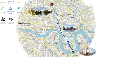 Secret and Vibrant Bike Rides in London - Greenwich to Hackney tickets