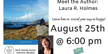 Meet the Author & Learn How to Travel Light tickets