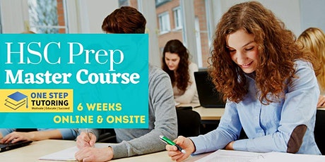 HSC Test Prep 6 Week Master Course tickets