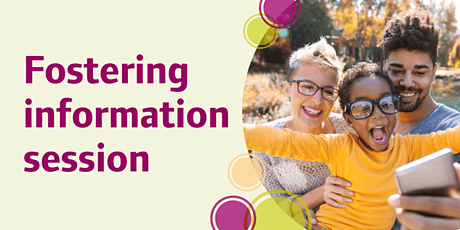 Online fostering information session tickets