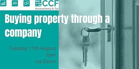 Buying Property Through a Company boletos