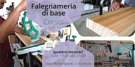 CORSO DI FALEGNAMERIA tickets