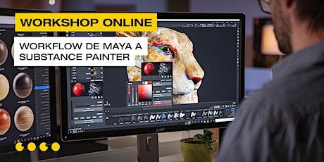 Workflow de maya a Substance painter boletos