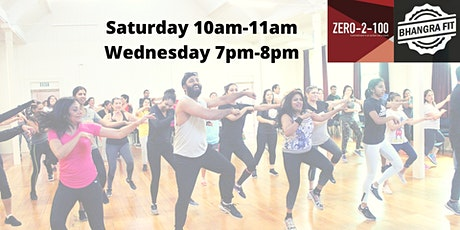 Bhangra Fit at Zero-2-100 gym Botany - Auckland tickets