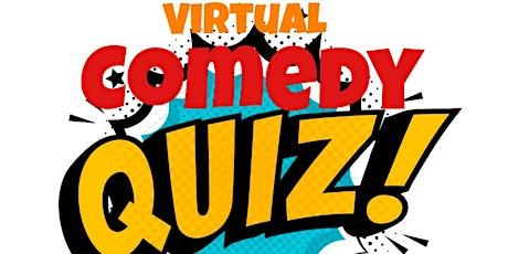Virtual Comedy Charity Quiz tickets