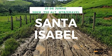 Rota Santa Isabel - 38 km - Intermediário + ingressos