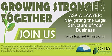Growing Stronger Together: Legal Structures For Your Business tickets