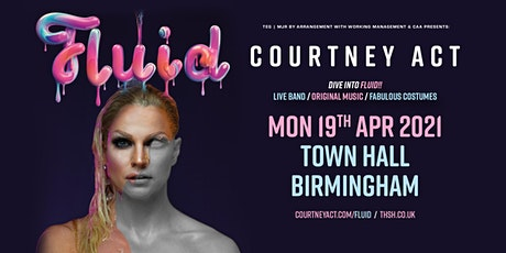 Courtney Act - Fluid Tour 2021 (Town Hall, Birmingham) tickets