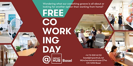 Free Coworking Day at Impact Hub Basel billets