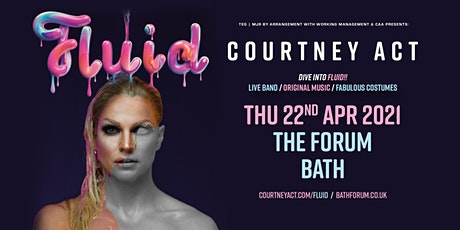 Courtney Act - Fluid Tour 2021 (Forum, Bath) tickets