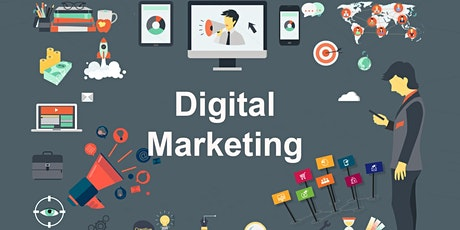 35 Hours Advanced & Comprehensive Digital Marketing Training in Gastonia tickets