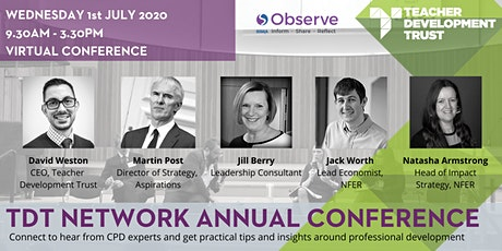 TDT Network Virtual Annual Conference 2020 tickets