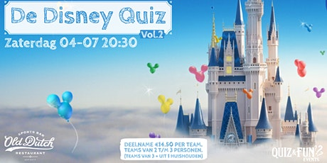 De Disney Quiz  vol.2| Breda tickets