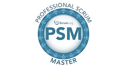 Professional Scrum Master I -  Agosto bilhetes