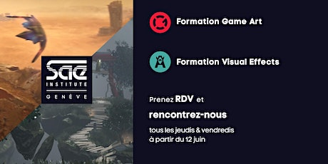 Journées d'informations Game Art et Visual Effects billets