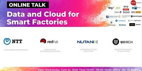Data and Cloud for Smart Factories (Online Talk) tickets