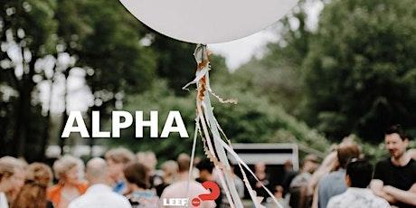 Alpha september  2020 LEEF! Doetinchem tickets