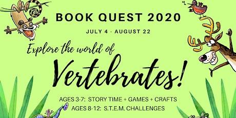 Book Quest 2020 billets